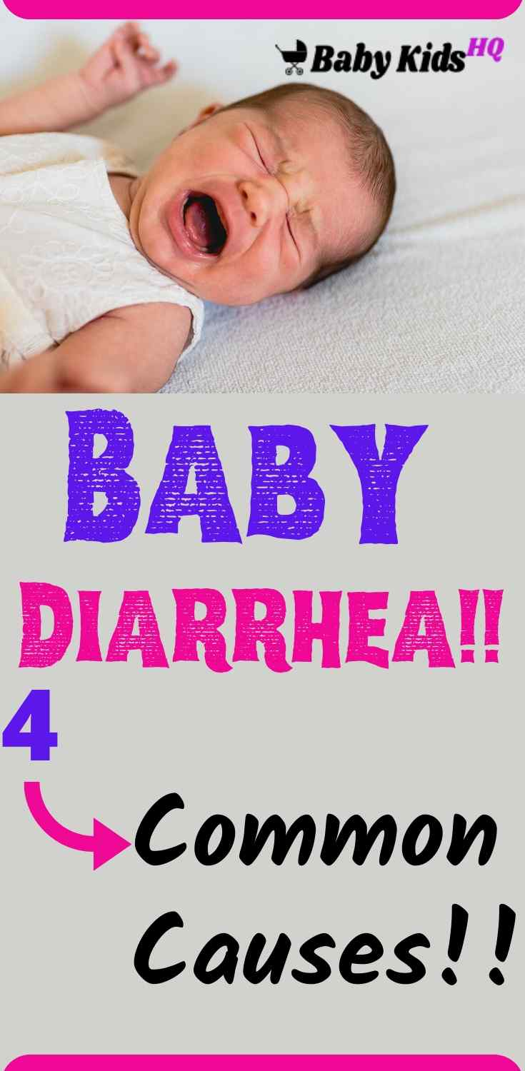 You'll know if your baby has diarrhea! Loose and frequent stools that come on suddenly are a good indication. If the situation persists for more than a day, your baby probably has a case of diarrhea. Don't panic, it's usually not too serious! Your baby's diarrhea could be caused by either a bacterial or viral infection. It may also be a result of some food or medicine that baby ingested that his system didn't like very much. #newmomtips #colicbaby #babycare #pregnancytips #pregnancy