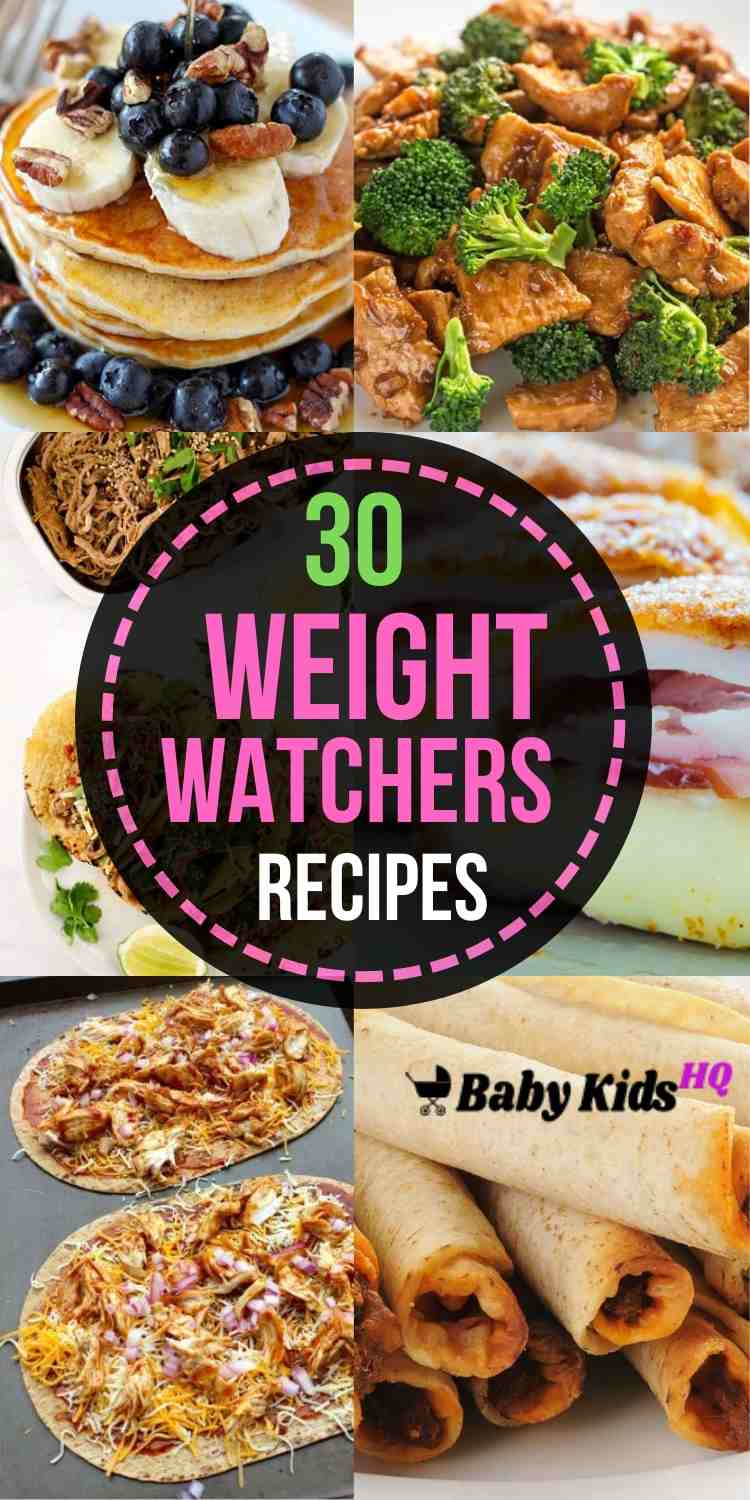 30 Weight Watchers Recipes With Smartpoints
