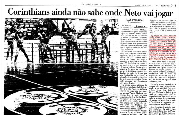 Corinthians_Neto no Napoli 2