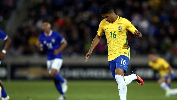 Douglas Santos foi o titular do time (Foto: Lucas Figueiredo / MoWA Press)