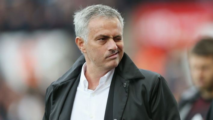 José Mourinho, técnico do Manchester United (Foto: Getty Images)