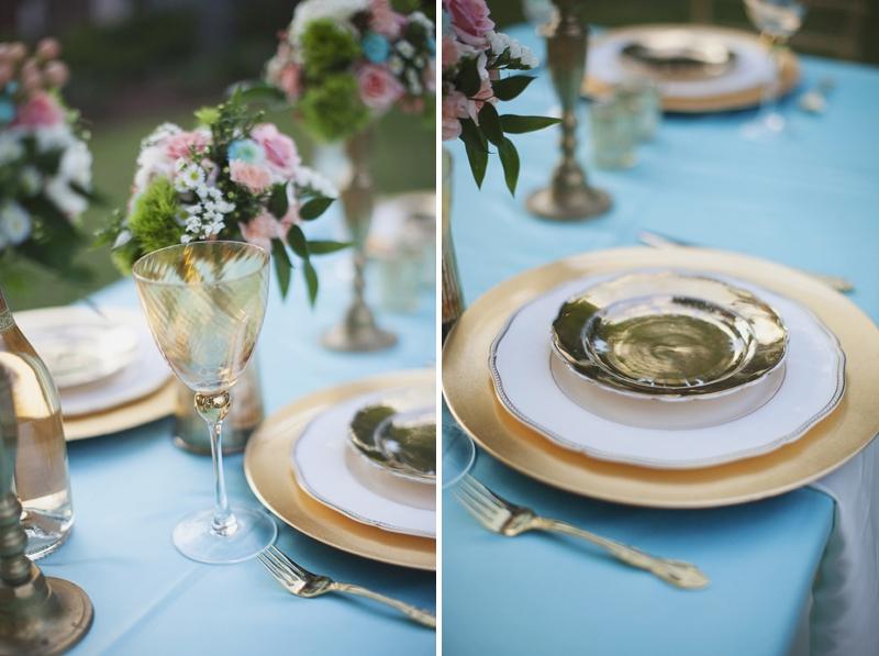 Aqua Wedding Ideas {Classic}