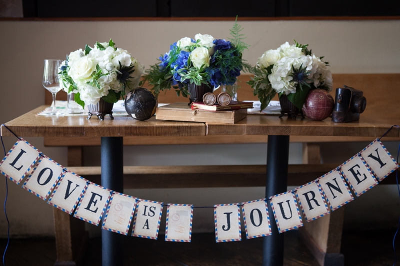 Red, White, And Blue Wedding Ideas {Vintage}