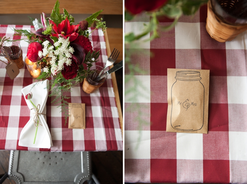 Red, White, And Blue Wedding Ideas {Rustic}
