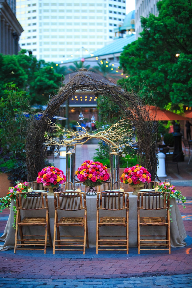 Colorful New Orleans Garden Wedding Inspiration Every Last Detail