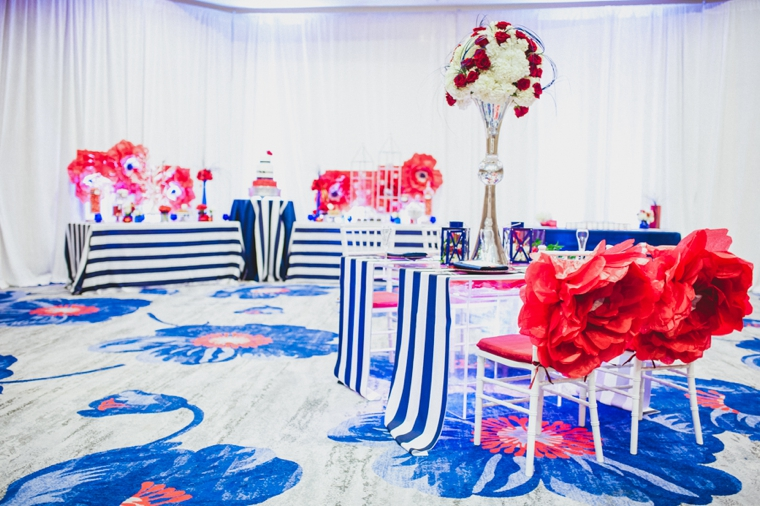 Eclectic Red, White, And Blue Wedding Ideas