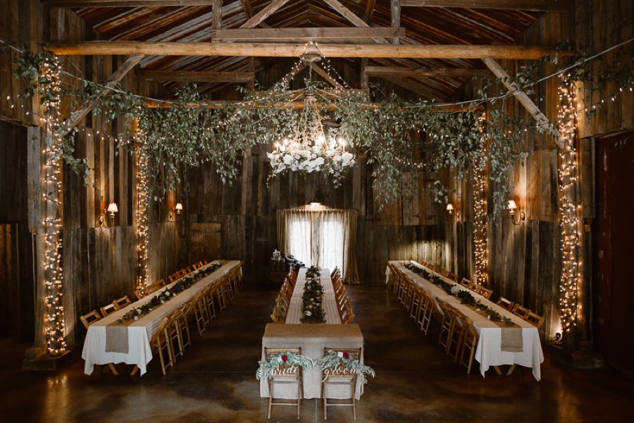 Red And White Rustic Wedding In Tennessee Every Last Detail