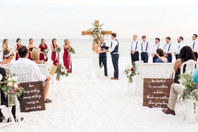 Vintage Boho Inspired Pensacola Wedding via TheELD.com