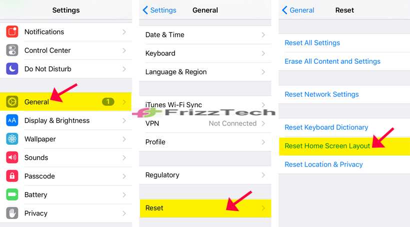 How to Find a Disappeared Safari icon on iPhone - Reset Home Layer iPhone