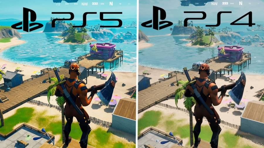 Fortnite on PS4