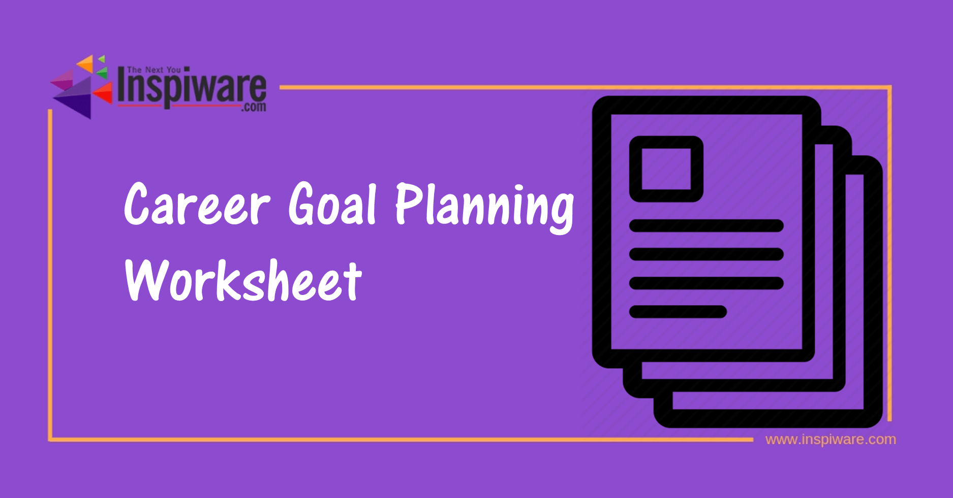 Career Goal Planning Worksheet