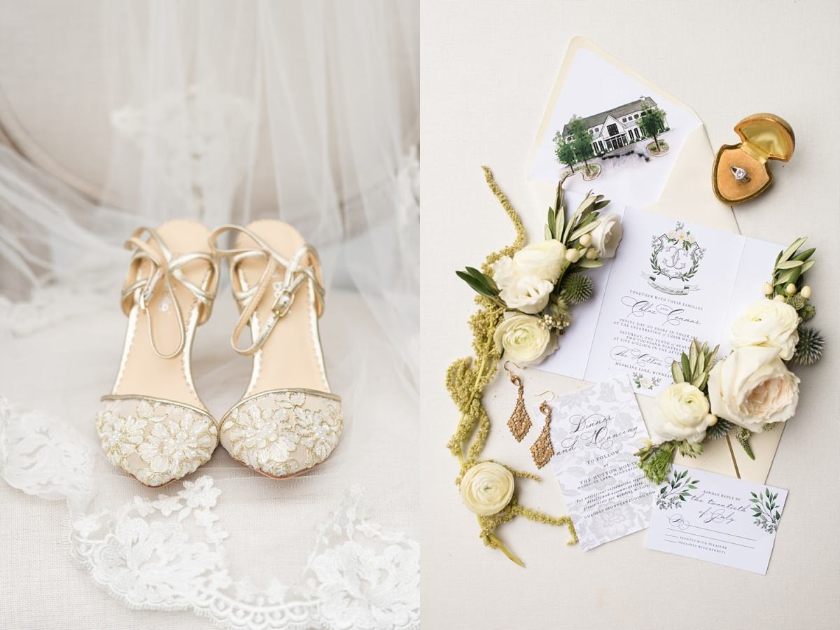 heirloom wedding day details