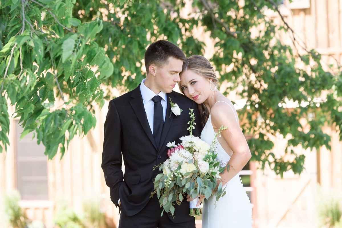 Maile and nick's sugar grove vineyard wedding
