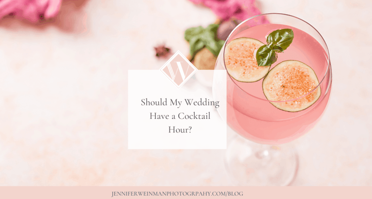 SHOULD MY WEDDING HAVE A COCKTAIL HOUR
