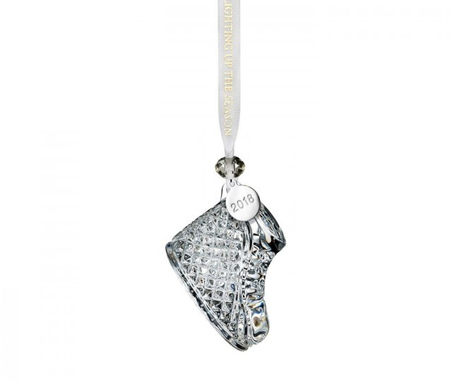 Waterford Crystal Babys First Christmas Ornament