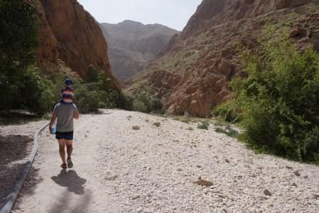 Doliny i skałki, czyli Wadi Shab