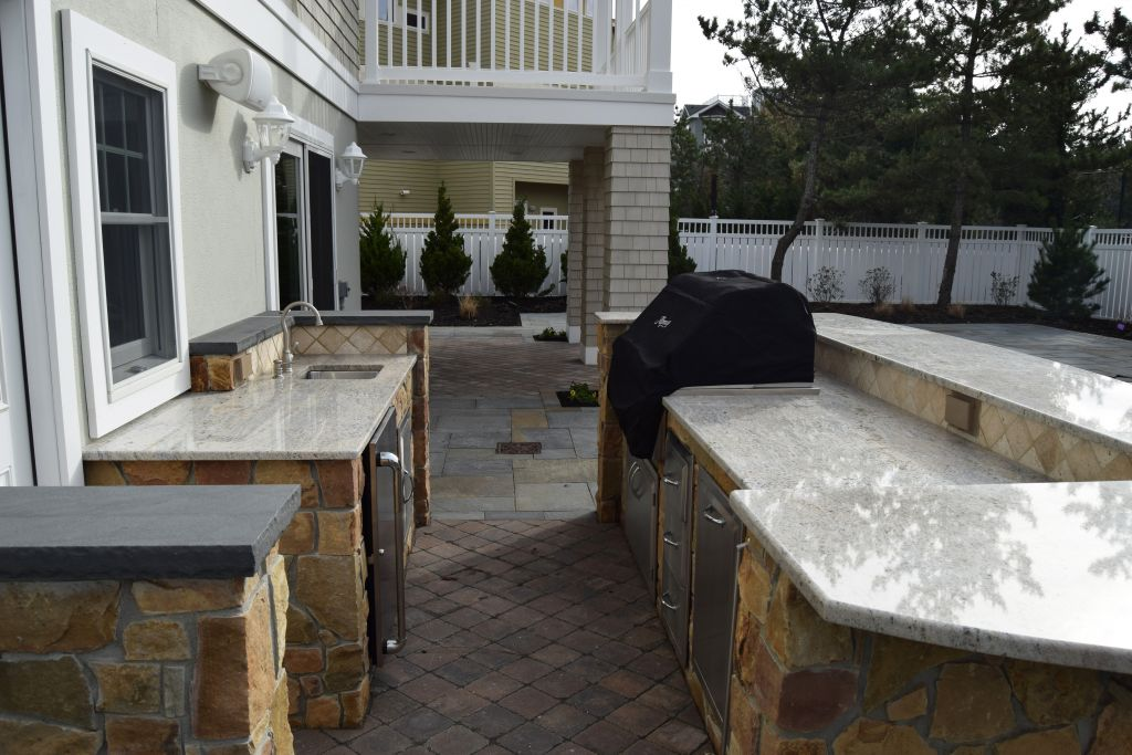 Outdoor Living Spaces for Your Custom LBI Home ... on Custom Outdoor Living id=38542