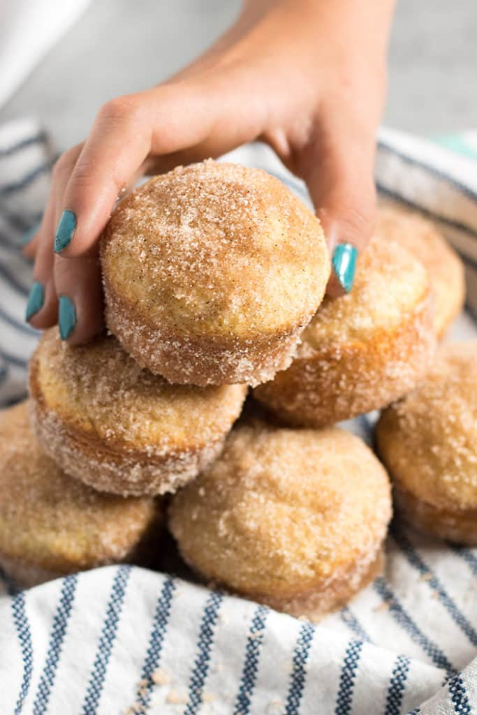 Cinnamon Sugar Donut Muffins Recipe | The Salty Marshmallow