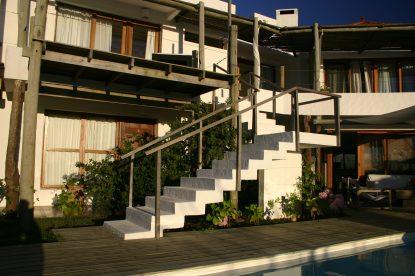 Posada del Faro stairs