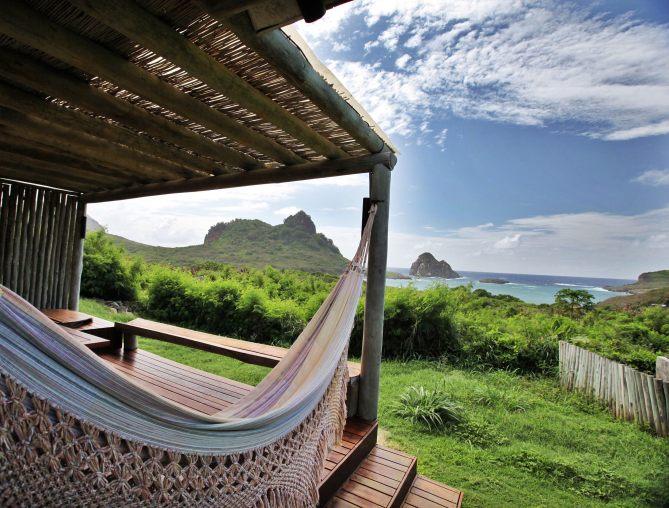 Pousada Maravilha bungalow hammock