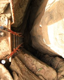 Praia do Sancho Fernando de Noronha ladder entrance