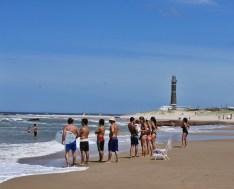 Playa Brava surfers