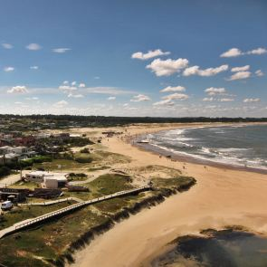 Jose Ignacio Faro view of Playa Bravo