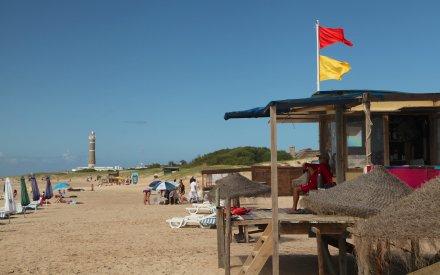 Playa Brava lifeguard shack