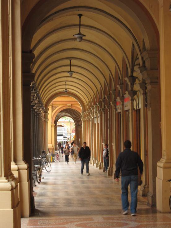 Bologna ochre colors