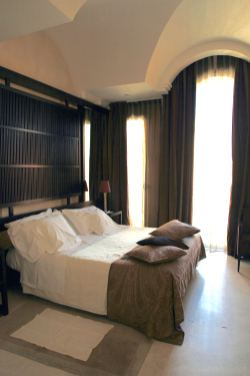 Art Hotel Novecento bedroom