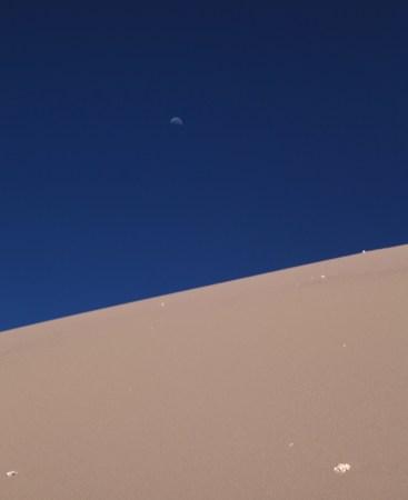 Atacama Val de Luna moonscape