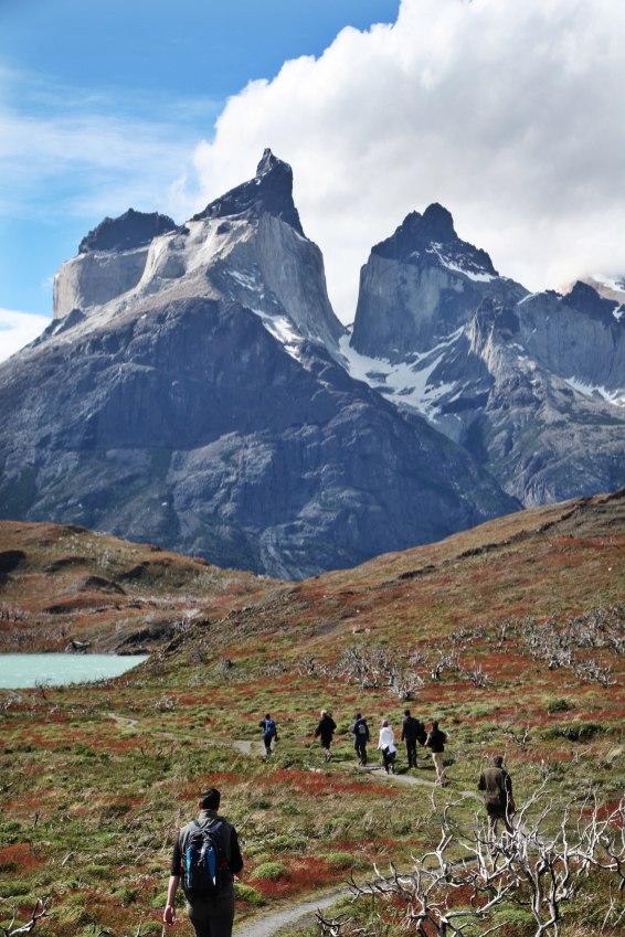 Torres del Paine National Park Los Cuernos Trail
