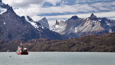 Torres del Paine Grey's Glacier Lago Grey
