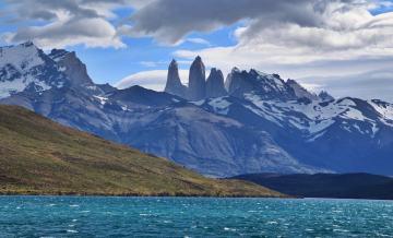 Torres del Paine National Park Lago Azul trail