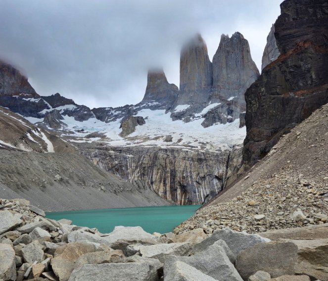 Torres del Paine National Park The Base of the Towers