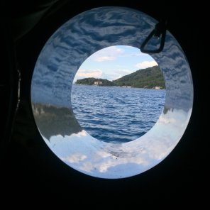 Queen of the Adriatic porthole