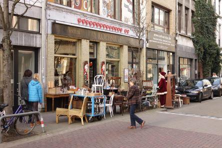 Antwerp Kloosterstraat street furniture
