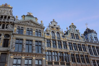Brussels Grand Place detail
