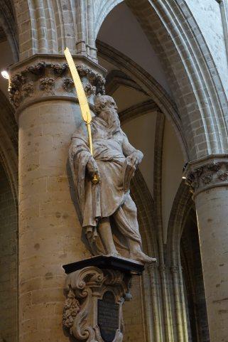 Brussels statue