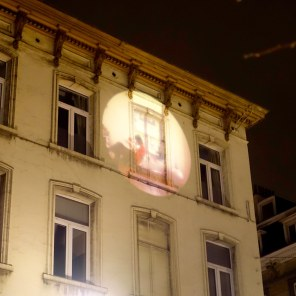 Brussels spotlight art