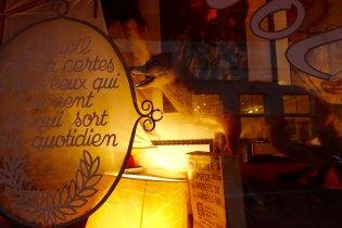 Brussels store display detail