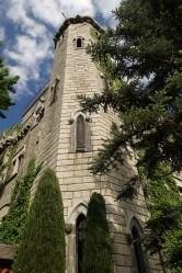 Chateau de Riell castle turret