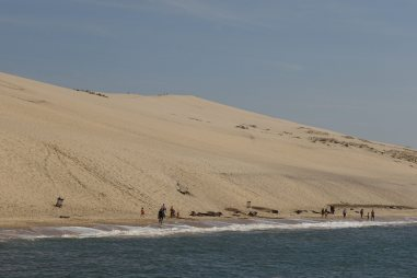 Dune du Pilat from the sea