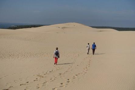 Dune du Pilat trail