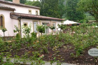 Les Pres d'Eugenie rose garden
