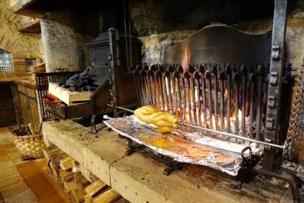 Les Pres d'Eugenie La Ferme grilling