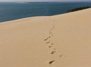 Dune du Pilat footprints