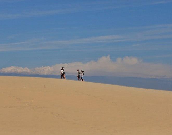 Dune du Pilat clouds