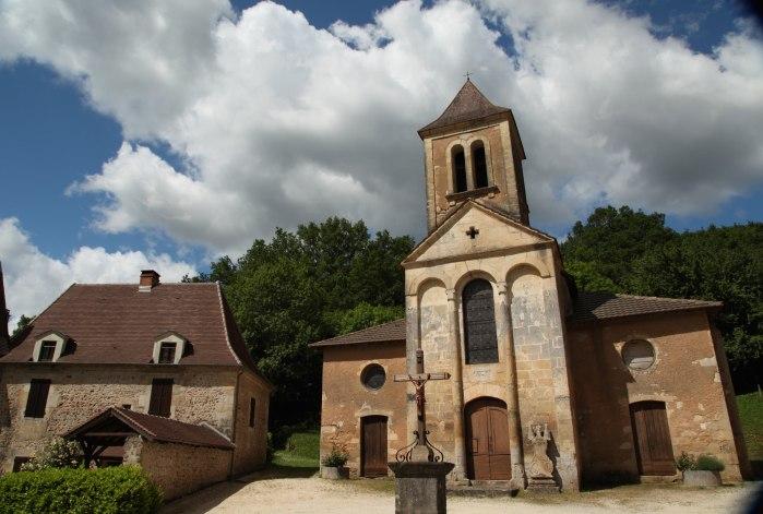 Dordogne village chapel