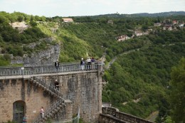 Rocamadour ramparts